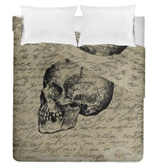 Skull Duvet Cover Double Side (queen Size) by Valentinaart