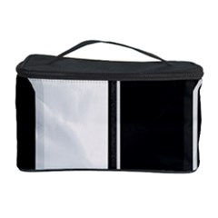 Texture Cats Black White Cosmetic Storage Case by Simbadda