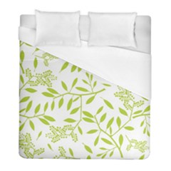 Leaves Pattern Seamless Duvet Cover (full/ Double Size) by Simbadda