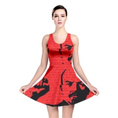 Lenin  Reversible Skater Dress by Valentinaart