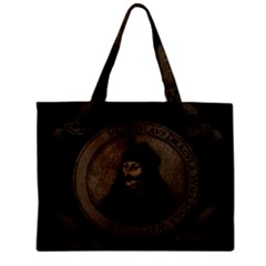 Count Vlad Dracula Zipper Mini Tote Bag by Valentinaart