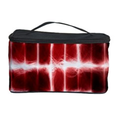 Electric Lines Pattern Cosmetic Storage Case by Simbadda