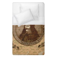 Count Vlad Dracula Duvet Cover (single Size) by Valentinaart