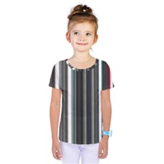 Miracle Mile Pattern Kids  One Piece Tee