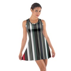 Miracle Mile Pattern Cotton Racerback Dress