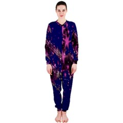 Stars Abstract Shine Spots Lines Onepiece Jumpsuit (ladies)