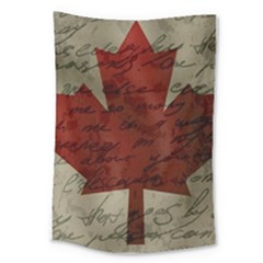 Canada Flag Large Tapestry