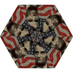 Lincoln Day  Mini Folding Umbrellas by Valentinaart