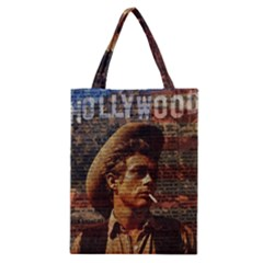 James Dean   Classic Tote Bag by Valentinaart