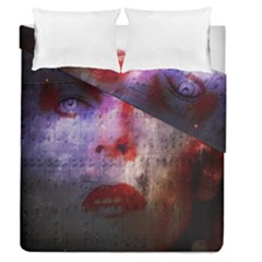 David Bowie  Duvet Cover Double Side (queen Size) by Valentinaart