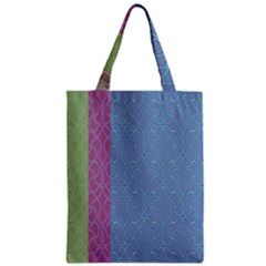 Fine Line Pattern Background Vector Zipper Classic Tote Bag
