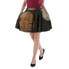 Alfred Hitchcock   Psycho  A Line Pocket Skirt by Valentinaart