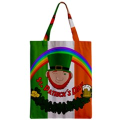 St  Patricks Day  Zipper Classic Tote Bag by Valentinaart