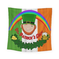 St  Patricks Day  Square Tapestry (small)