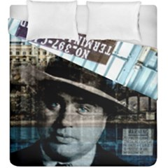 Al Capone  Duvet Cover Double Side (king Size) by Valentinaart