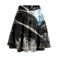 Al Capone  High Waist Skirt by Valentinaart