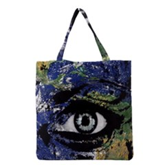 Mother Earth  Grocery Tote Bag by Valentinaart