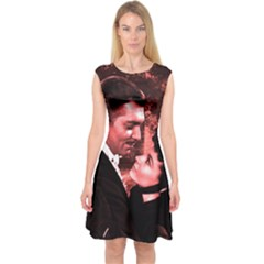Gone With The Wind Capsleeve Midi Dress by Valentinaart