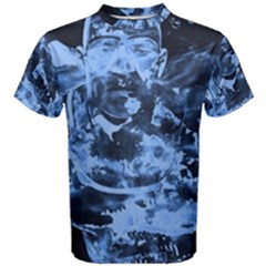 Blue Angel Men s Cotton Tee by Valentinaart