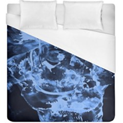 Blue Angel Duvet Cover (king Size) by Valentinaart