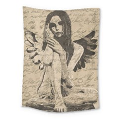 Vintage Angel Medium Tapestry