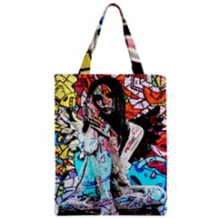 Graffiti Angel Classic Tote Bag by Valentinaart
