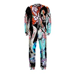 Graffiti Angel Onepiece Jumpsuit (kids) by Valentinaart