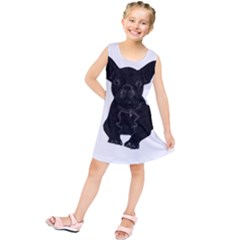 Bulldog Kids  Tunic Dress by Valentinaart