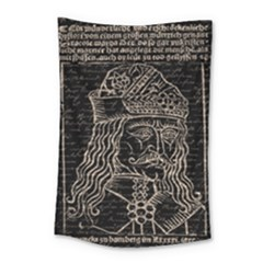Count Vlad Dracula Small Tapestry