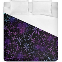 Retro Flower Pattern Design Batik Duvet Cover (king Size)