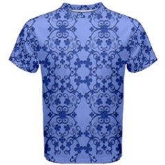 Floral Ornament Baby Boy Design Retro Pattern Men s Cotton Tee
