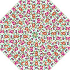 Floral Flower Pattern Seamless Folding Umbrellas by Simbadda