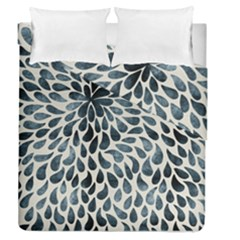 Abstract Flower Petals Floral Duvet Cover Double Side (queen Size)