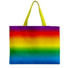 Rainbow Background Colourful Medium Tote Bag