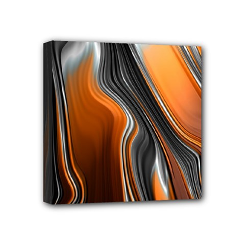 Fractal Structure Mathematics Mini Canvas 4  X 4  by Simbadda