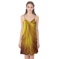 Flower Gold Hair Camis Nightgown by Alisyart