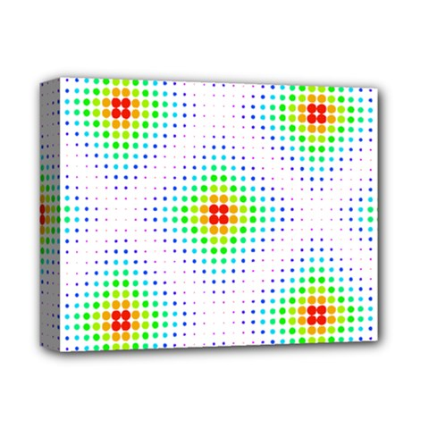 Color Square Deluxe Canvas 14  X 11  by Simbadda