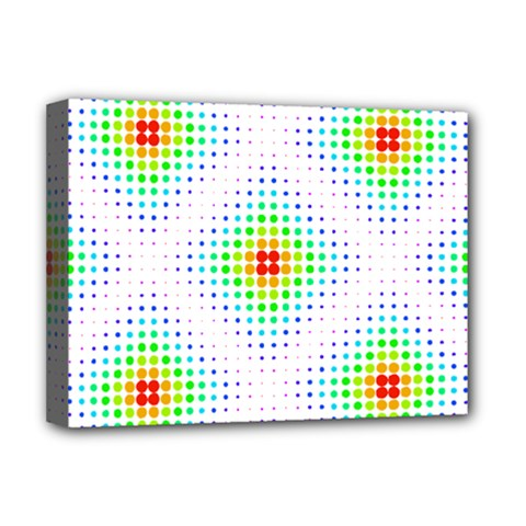 Color Square Deluxe Canvas 16  X 12   by Simbadda