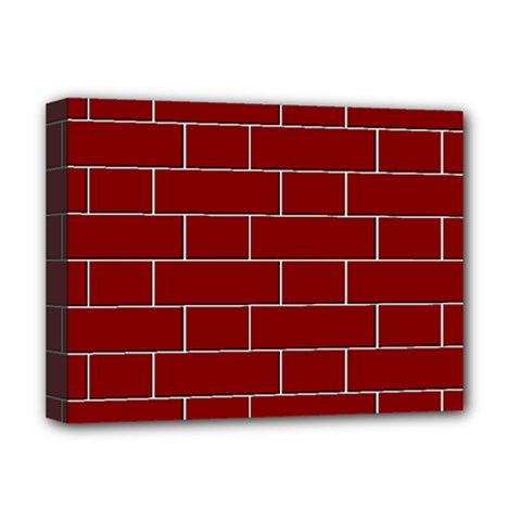 Flemish Bond Deluxe Canvas 16  X 12   by Simbadda