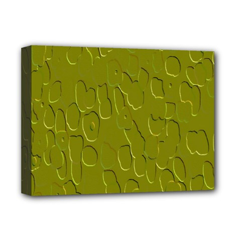 Olive Bubble Wallpaper Background Deluxe Canvas 16  X 12