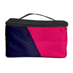 Pink Pattern Cosmetic Storage Case