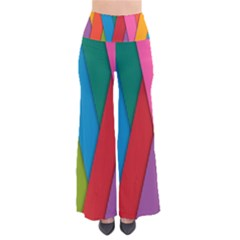 Colorful Lines Pattern Pants