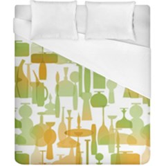 Angerine Blenko Glass Duvet Cover (california King Size)