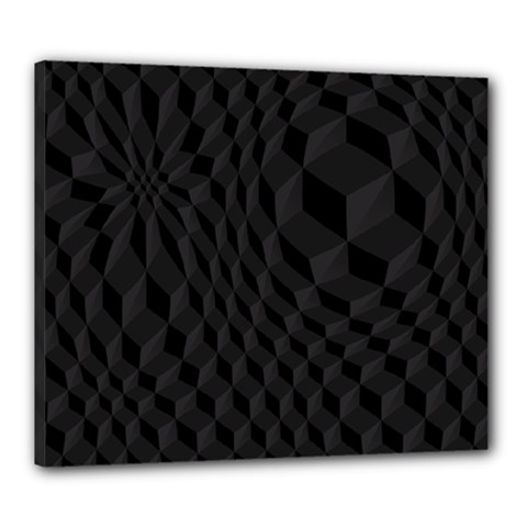 Pattern Dark Texture Background Canvas 24  X 20