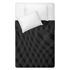 Pattern Dark Texture Background Duvet Cover Double Side (single Size) by Simbadda