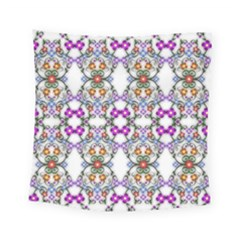 Floral Ornament Baby Girl Design Square Tapestry (small) by Simbadda
