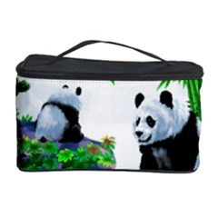 Cute Panda Cartoon Cosmetic Storage Case by Simbadda