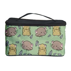 Cute Hamster Pattern Cosmetic Storage Case by Simbadda