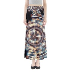 Science Fiction Background Fantasy Maxi Skirts