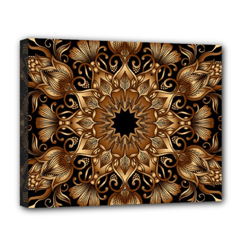 3d Fractal Art Deluxe Canvas 20  X 16   by Simbadda